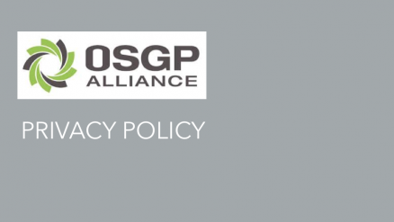 OSGP ALLIANCE PRIVACY POLICY